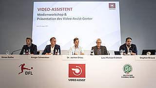 Drees: Der Video-Assistent darf keine Entscheidung treffen
