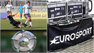 Topspiel Frankfurt vs. Potsdam bei Eurosport