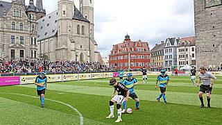 Blindenfußball-Bundesliga: Finale St. Pauli gegen Marburg