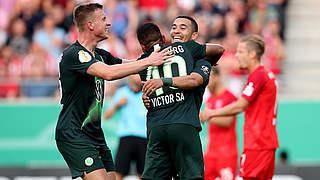 Halle verpasst Sensation gegen Wolfsburg