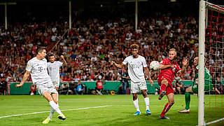 FCB zieht ohne Probleme in Runde zwei ein