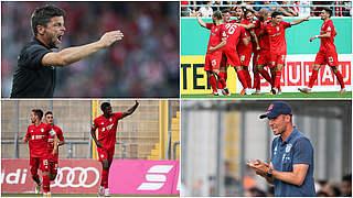 Halle gegen Bayern II live bei Magenta Sport