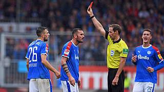 Zwei Spiele Sperre für Kiels Meffert