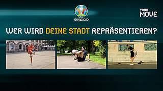 EURO 2020: Freestyler wählen und Tickets oder Trikots gewinnen
