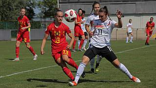 3:0 gegen Belgien: U 19 startet mit Sieg