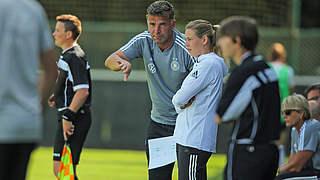 U 19-Frauen: Gegen Niederlande Spielidee weiter ausreifen