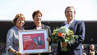 DFB verabschiedet Maren Meinert in Kassel