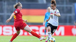 Magull ist Spielerin des Montenegro-Spiels