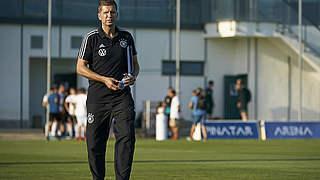 U 19-Trainer Streichsbier vor England-Duell: Harter Brocken
