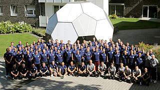 Workshop der Elite-Jugend-Trainer: Teilnehmer verlängern Lizenz