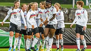 U 17-Juniorinnen gewinnen Vier-Nationen-Turnier in Schweden