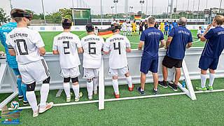 Blindenfußball-EM: Nationalmannschaft verpasst Halbfinale