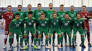 Futsal-Nationalmannschaft erneut mit 2:2 gegen England