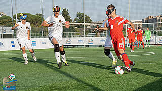 Blindenfußballer: Nationalmannschaft kraftlos auf Gruppenrang vier