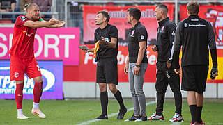 Halle legt Einspruch gegen Münster-Spiel ein