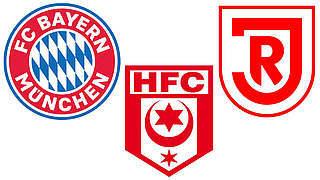 Geldstrafen für Bayern München, Halle und Jahn Regensburg