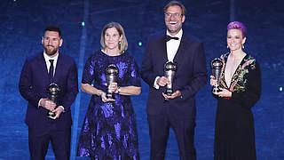 Klopp ist FIFA-Welttrainer des Jahres