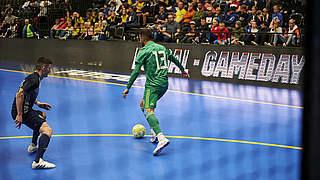 Trotz vier Toren in fünf Minuten: Futsal-Nationalmannschaft unterliegt Schweden