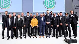Koch und Osnabrügge wiedergewählt, Curtius im Amt bestätigt