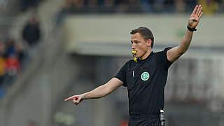 Petersen pfeift Hertha gegen Düsseldorf