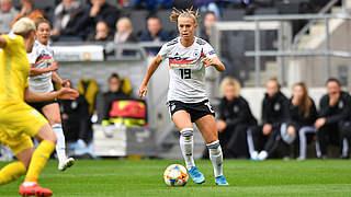 Bühl ist Spielerin des Ukraine-Spiels