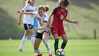 4:1 gegen Portugal: U 19 holt Gruppensieg