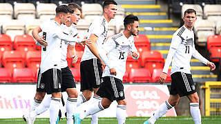 U 19 gegen Belarus: Komplett anderes Spiel