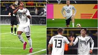 PK mit Gnabry, Havertz und Reus live auf DFB-TV