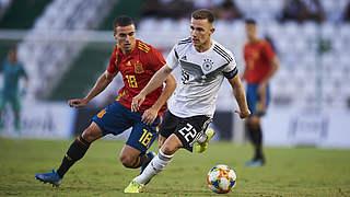 U 21 spielt 1:1 bei Europameister Spanien