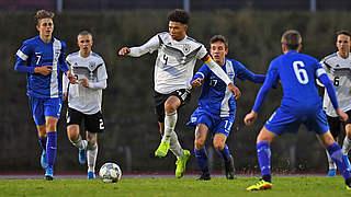 U 16-Junioren schlagen Finnland erneut