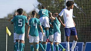 2:1 vs. England: U 17 gewinnt zweites Duell