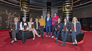 Hall of Fame: Gründungself der Frauen aufgenommen