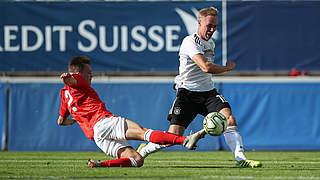 U 20 gewinnt 1:0 in der Schweiz