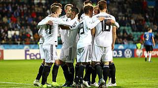 3:0 in Estland im Video: Fünfter Sieg im sechsten Spiel
