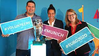 Volunteers zur EURO 2020: Freiwillige vor!