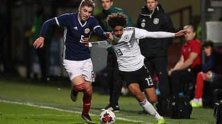 U 19 verliert gegen Schottland