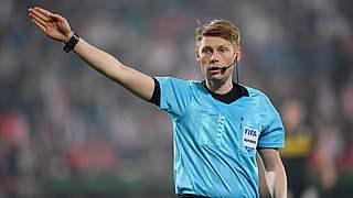 Dingert pfeift Frankfurt gegen Leverkusen
