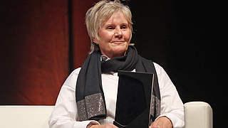 Tina Theune erhält Ehrenpreis Lotte