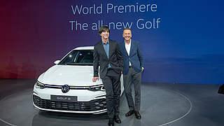 Löw bei der Weltpremiere des VW Golf 8