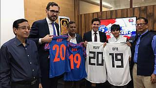 DFB und Indischer Fußball-Verband unterzeichnen MoU