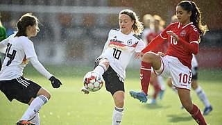 Remis für U 16 im zweiten Dänemark-Spiel
