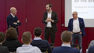 Gemeinsamer Workshop von DFB und KNVB