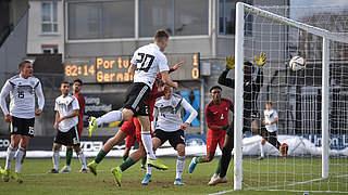 U 19 mit Last-Minute-Sieg gegen Portugal
