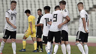 5:0 gegen Kasachstan: U 17 startet erfolgreich in EM-Qualifikation