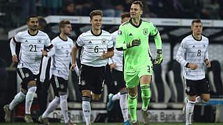 ZDF und ARD zeigen deutsche Gruppenspiele