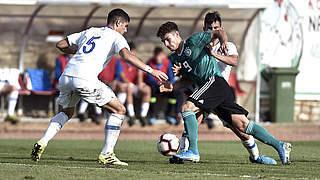 EM-Qualifikation: U 17 trotz Niederlage gegen Griechenland weiter