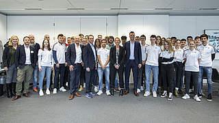 Junior-Coach-Event in Frankfurt: Kurzweilig und lehrreich