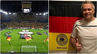 Mit 50 Mann beim Länderspiel: FC Schöffengrund in Frankfurt