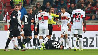Drei Spiele Sperre für Stuttgarts Kempf
