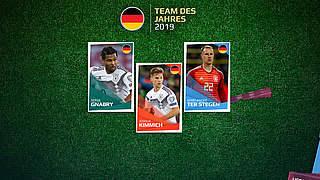Team des Jahres: Gnabry, Kimmich und ter Stegen stehen zur Wahl
